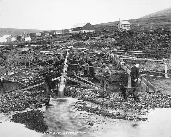 Anvil Creek Gold Mine Nome Alaska 1916 Photo Print for Sale