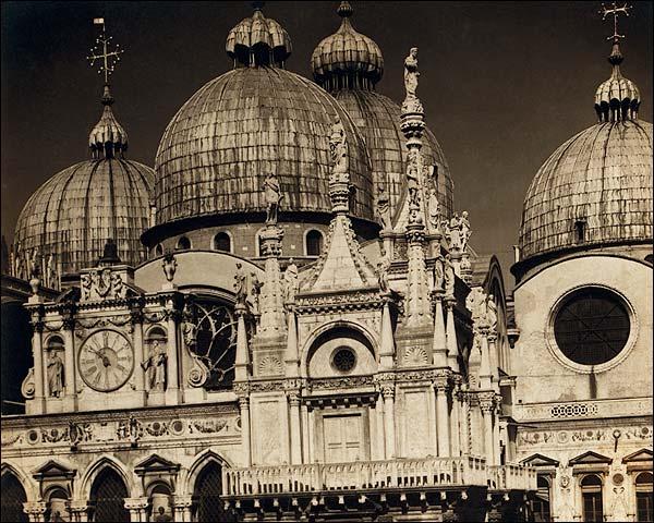 St Marks Basilica Church Venice Italy 1905 Photo Print for Sale