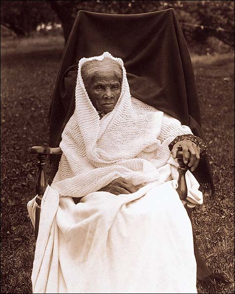 Abolitionist Harriet Tubman Home Portrait Photo Print for Sale
