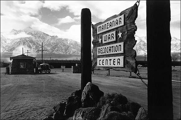 Ansel Adams Manzanar War Relocation Center Photo Print for Sale