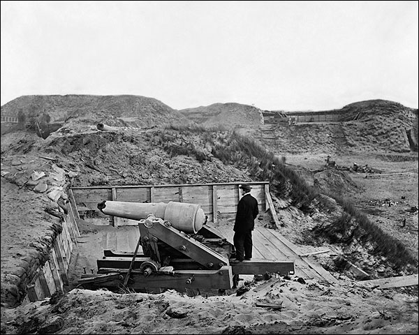 Fort Fisher Timothy H. O'Sullivan Civil War Photo Print for Sale