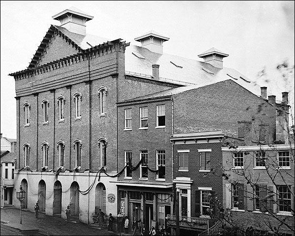 lincoln fords theater washington d c 1861 photo print for sale. Cars Review. Best American Auto & Cars Review