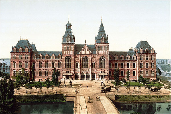 The Rijksmuseum, Amsterdam, Holland Photo Print for Sale