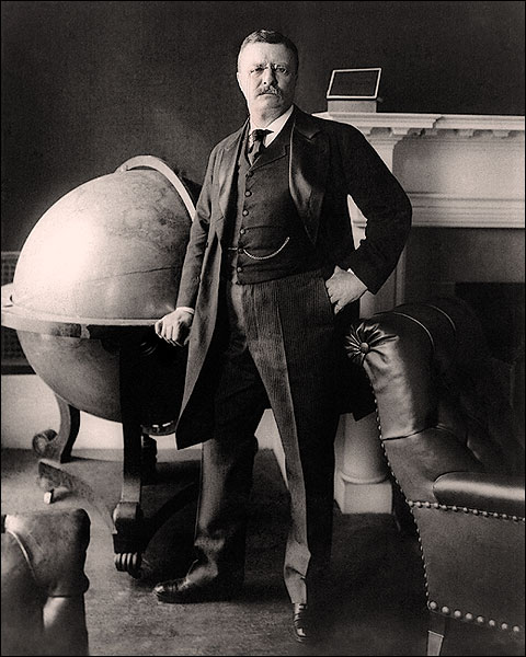 President Theodore 'Teddy' Roosevelt Photo Print for Sale