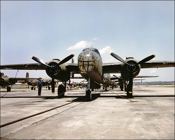 B-25 Mitchell Bomber North American Photo Print for Sale