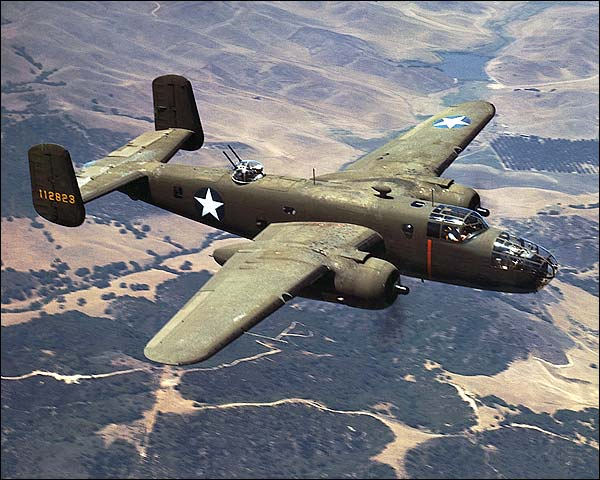 North American Aviations B-25 Bomber Photo Print for Sale