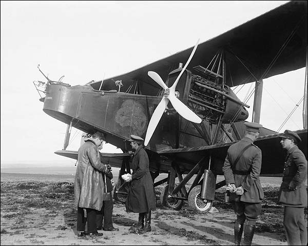 Handley Page Type O O/100 WWI Bomber Photo Print for Sale