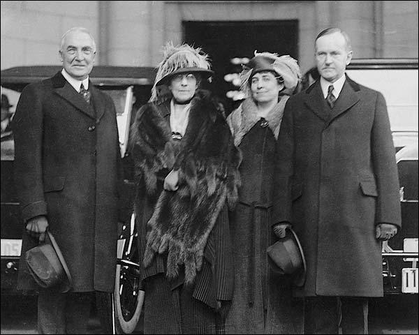 President Warren Harding & Calvin Coolidge Photo Print for Sale