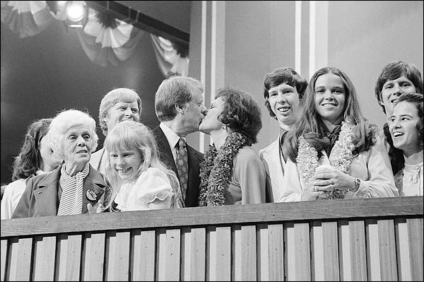 Jimmy Carter & Rosalynn Democratic National Convention Photo Print for Sale
