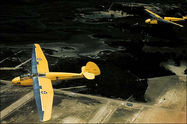 Marine Corps Glider Airplane, Parris Island Photo Print for Sale