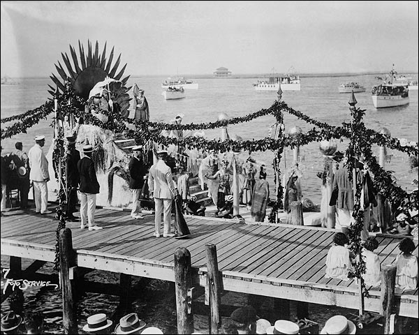 Atlantic City Carnival 1922  Photo Print for Sale
