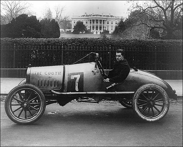 Cootie Race Car, Washington, D.C. 1922 Photo Print for Sale