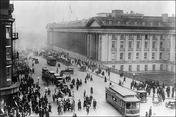 Treasury Building & Hotel Washington, D.C. Photo Print for Sale