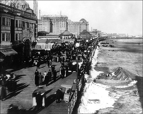 Atlantic City Beach Easter Parade NJ 1915 Photo Print for Sale