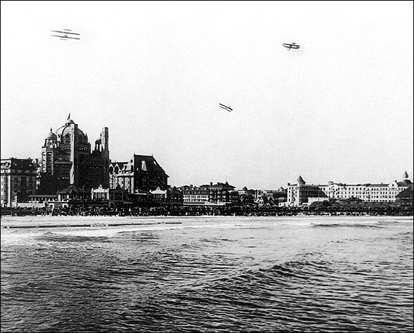 Atlantic City Boardwalk & Beach NJ 1910 Photo Print for Sale