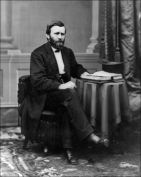 Ulysses S. Grant Seated Portrait Photo Print for Sale