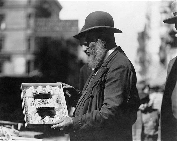 Jewish Street Vendor East Side, New York Photo Print for Sale