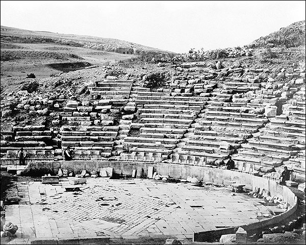 Herodes Atticus Odeon Acropolis Greece Photo Print for Sale