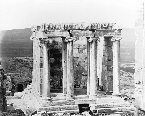 Ancient Greek Temple of Athena Acropolis Photo Print for Sale