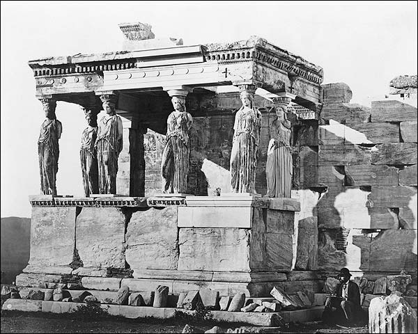 Erechtheum Ancient Greek Temple Acropolis Photo Print for Sale