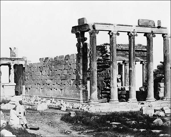 Ancient Greek Temple Erechtheum Acropolis Photo Print for Sale