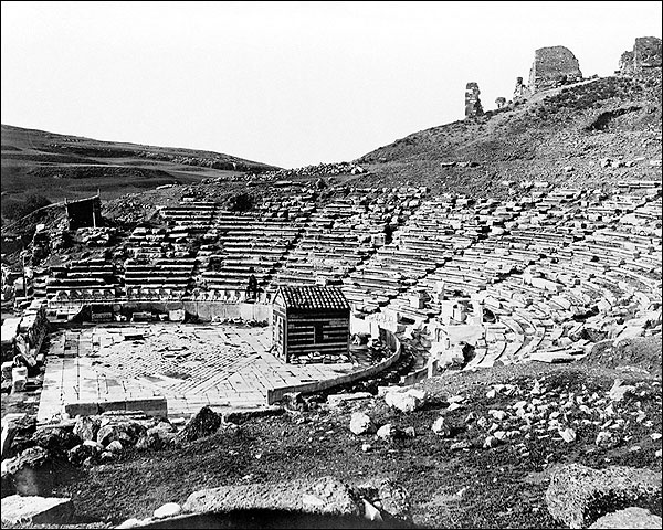 Theatre of Dionysus Acropolis Hill Athens Photo Print for Sale