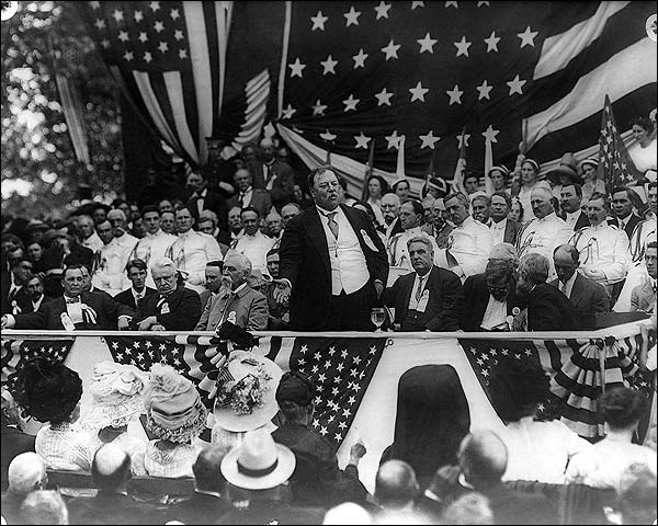 President William Howard Taft Speech 1911 Photo Print for Sale