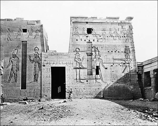Temple Isis Philae Island Nile River Egypt Photo Print for Sale