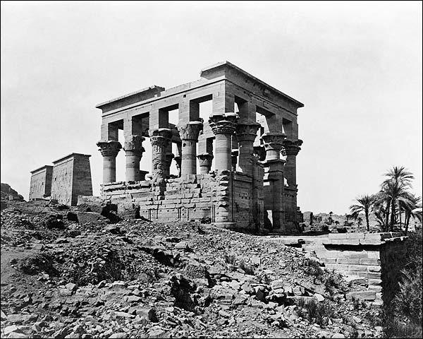 Egyptian Emperor Trajan Pharaoh's Bed Egypt Photo Print for Sale