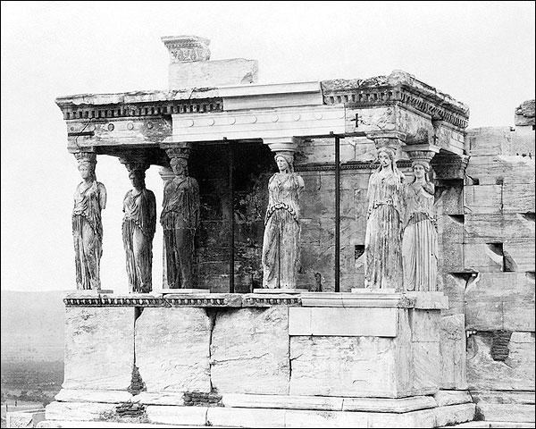 Erechtheum Ancient Greek Temple Acropolis Photo Print for Sale