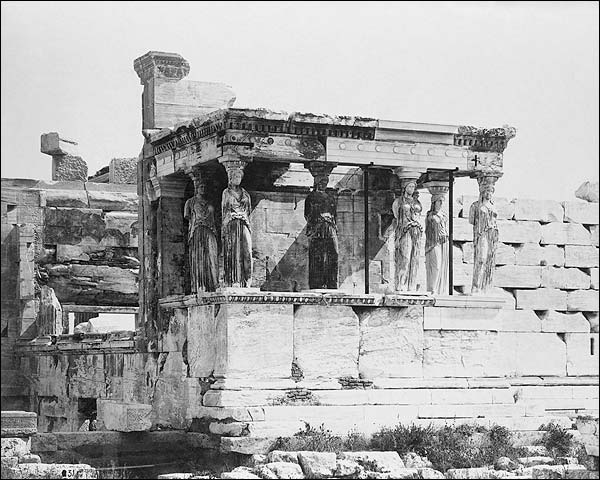 Ancient Greek Temple Erechtheum Acropolis Photo Print for Sale