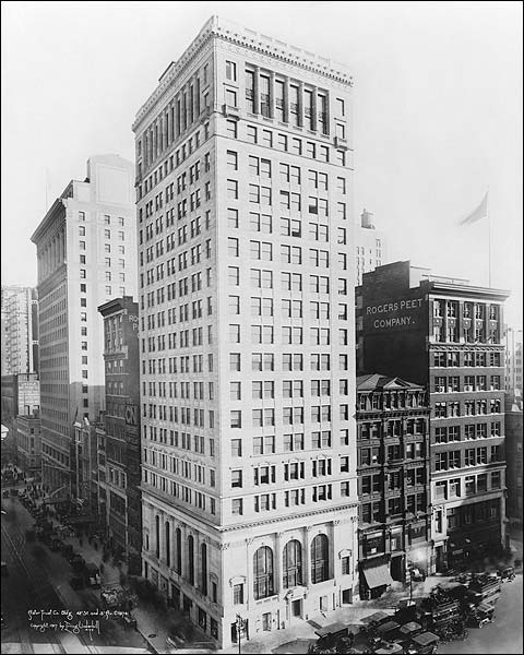 Astor Trust Company Building New York 1917 Photo Print for Sale