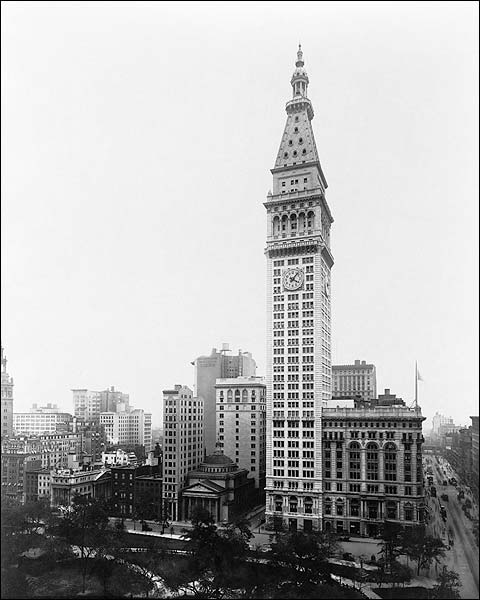 Metropolitan Life Insurance Bldg NYC 1913 Photo Print for Sale
