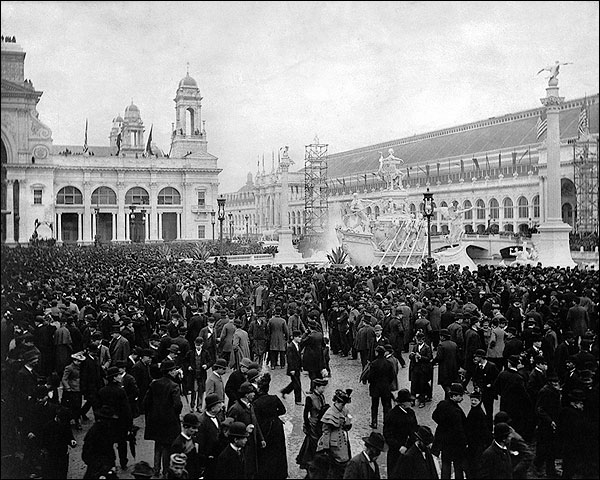 Worlds Columbian Exposition Opening Day Photo Print for Sale