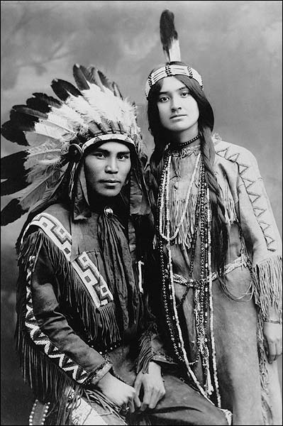 Indians Situwuka & Katkwachsnea, Alaska Photo Print for Sale