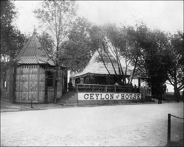 Ceylon Tea House World's Fair Expo Chicago 1893 Photo Print for Sale