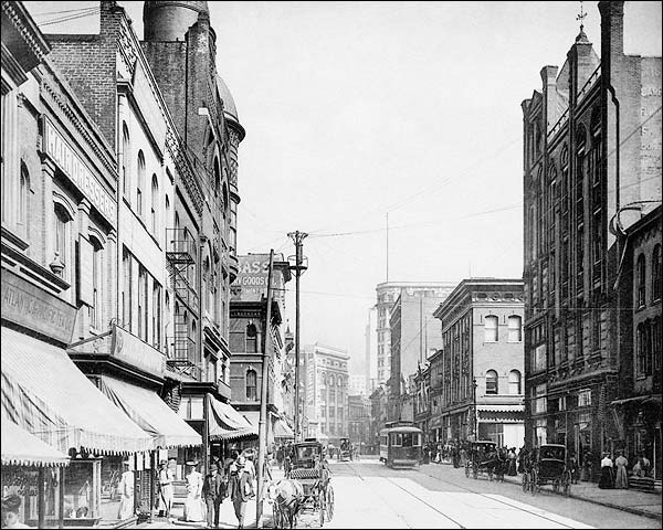 Whitehall Street Atlanta Georgia 1900s Photo Print for Sale