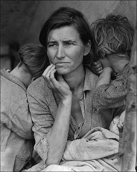 Dorothea Lange Migrant Mother 1936 Photo Print for Sale