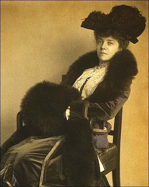 Alice Roosevelt Longworth Portrait 1902 Photo Print for Sale