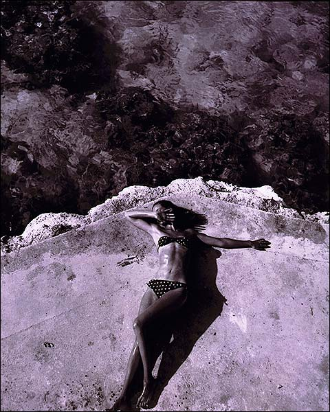Jamaica Fashion Model Toni Frissell 1946 Photo Print for Sale