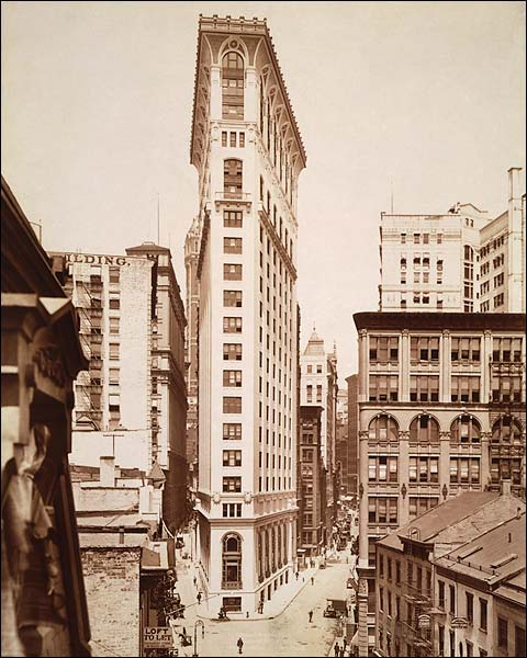 German American Insurance Building, New York City Photo Print for Sale