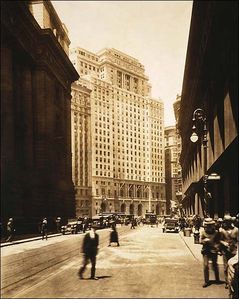 Cunard Building, New York City 1921 Photo Print for Sale