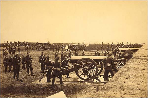 Fort Richardson Artillery, Civil War 1861 Photo Print for Sale