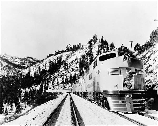 Union Pacific Streamliner Railroad Train Photo Print for Sale