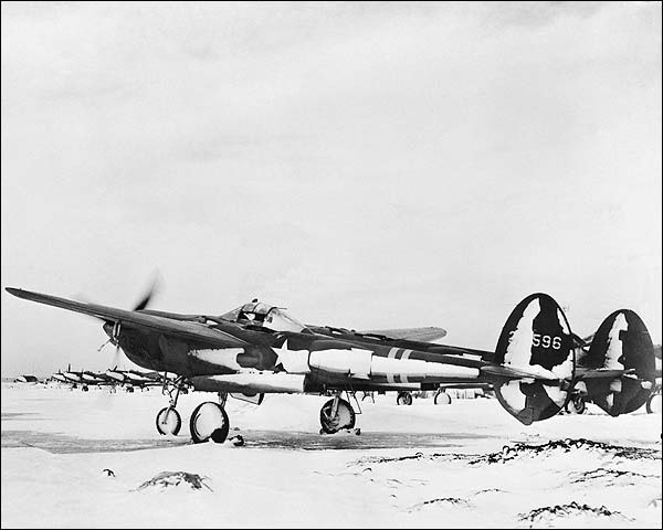 WWII Lockheed P-38 Aircraft in Iceland Photo Print for Sale