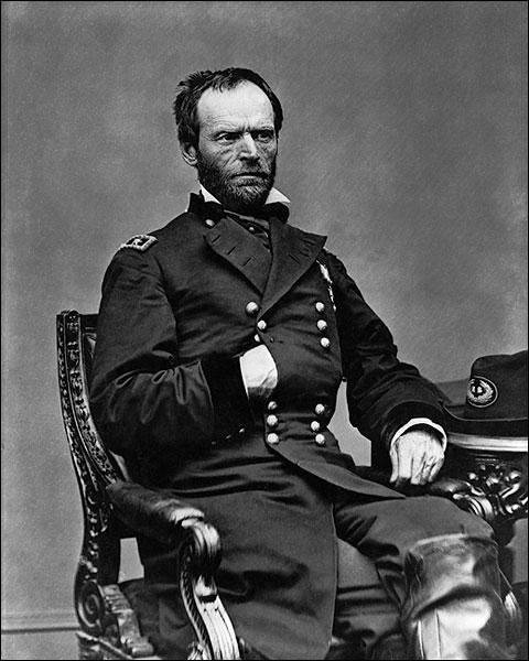 Civil War General William T. Sherman Photo Print for Sale