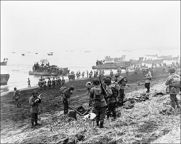WWII Soldiers, Attu Aleutian Islands Alaska Photo Print for Sale