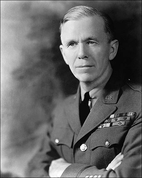 General George C. Marshall WWII Portrait Photo Print for Sale