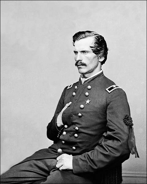 Colonel Henry A. Barnum Portrait 1850s Photo Print for Sale