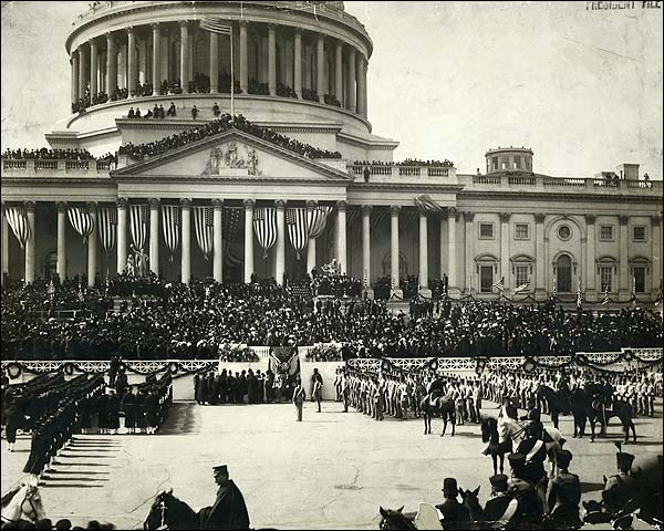 President Roosevelt Inauguration 1905 Photo Print for Sale